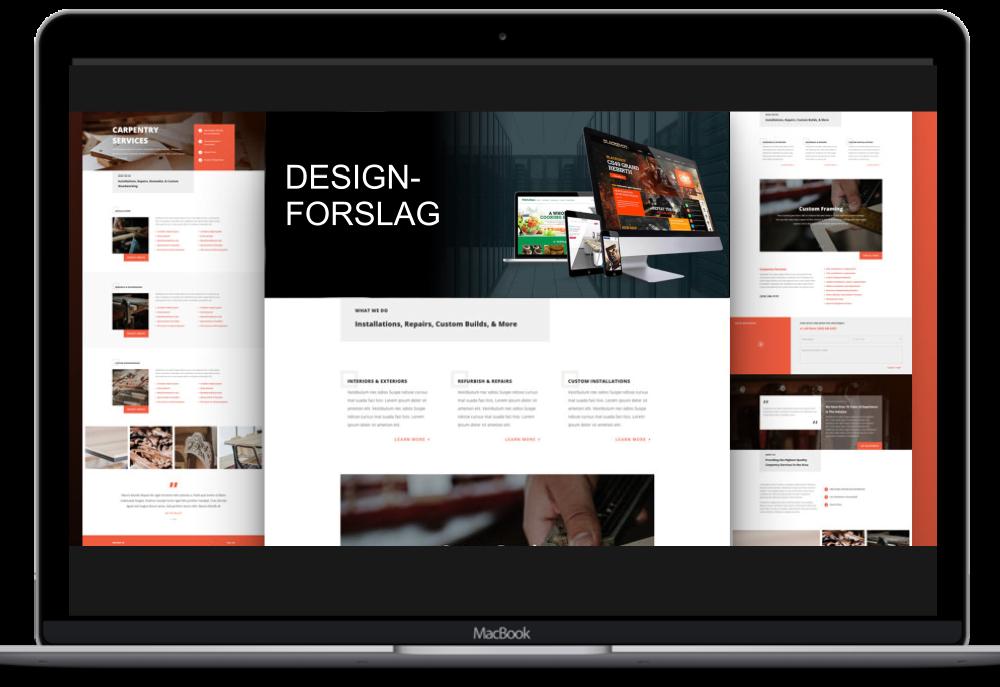 Bilde av designforslag